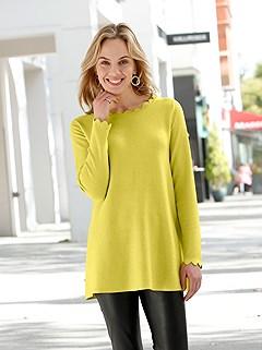 Scallop Hem Sweater product image (505736.LM.1M)
