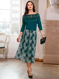 Floral Lace Skirt product image (505925.PEJD.1S)