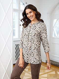 Floral Print Tunic product image (506535.BEPR.1.1_WithBackground)