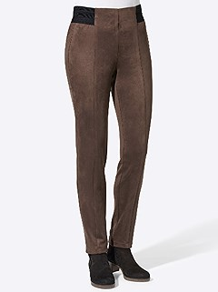 Panel Faux Leather Pants product image (506537.BR.5.1_WithBackground)