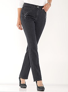Rhinestone Embellished Jeans product image (524336.CCDE.1.1_WithBackground)