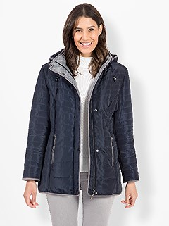Fleece Lined Quilted Jacket product image (524379.NVGY.3.1_WithBackground)