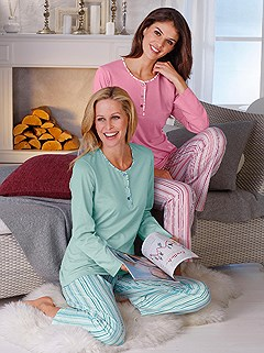 2 Pk Striped Pajama Set product image (755856.MTRS.1.1_WithBackground)