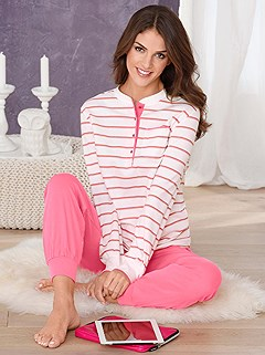 Striped Pajama Set product image (755876.COST.1.1_WithBackground)
