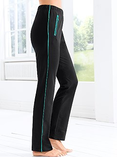 Side Stripe Lounge Pants product image (812585.BKMT.3.7_WithBackground)