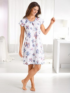 Butterfly Print Nightgown product image (888801.RSPR.2.1_WithBackground)