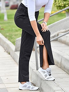 Athleisure Zip Pants product image (894333.BK.1)