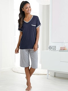 Airy Shorts And Top Pajama Set product image (967550.NVMO.4.1_WithBackground)