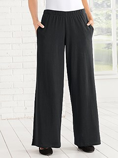 Flared Lounge Pants product image (969251.BK.4.8_WithBackground)