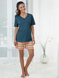 Short Style Pajama Set product image (980212.PEMU.2.1_WithBackground)