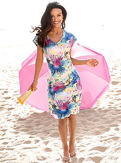 Floral Tie Dye Print Cover Up product image (994223.MU.3.1_WithBackground)