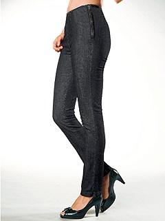 Side Zip Jeans product image (B51171.BKDE.1.HE)