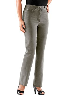 Elastic Waist Jean product image (B51503-GYDE.01)