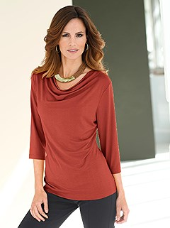 Cowl Neck Top  product image (B54133.CN.1.HE)