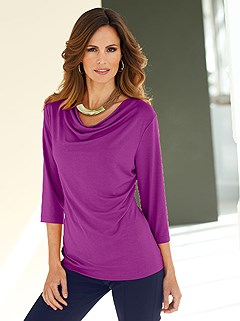 Cowl Neck Top  product image (B54133.FS.1.HE)