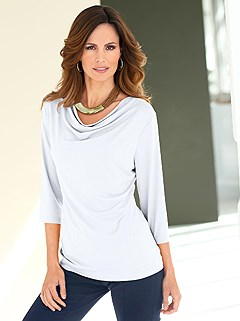 Cowl Neck Top  product image (B54133.WH.1.HE)