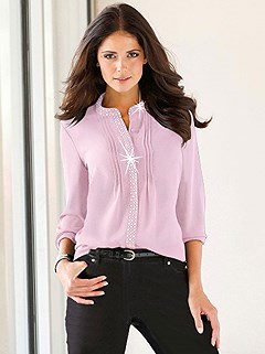 Embellished Blouse product image (B56520.RS.HE)