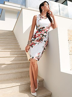 Floral Print Dress product image (B58103.MU.1.HE)
