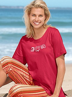 Shell Print Top product image (B64088.RD.2.1_WithBackground)