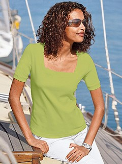 Square Neck Top product image (B64090.PS.1.HE)