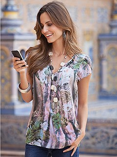 Floral Print Blouse product image (B66014.RSPR.1.HE)