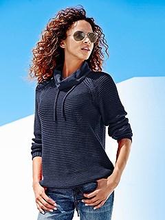 Chunky Knit Sweater product image (B67503.NV.1.HE)