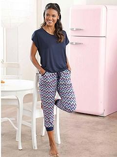 Cropped Pajama Set product image (C17913.NVMU)