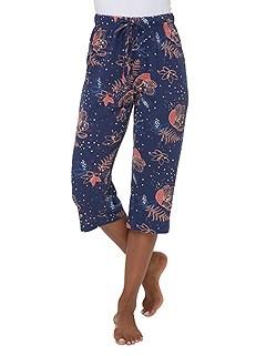 Patterned Capri Pajama Pants product image (C20955.NVPR.4.1_Ghost)