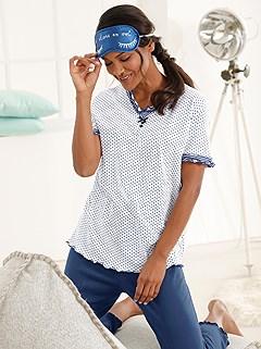 Mix Pattern Pajama Set product image (C30572.NWDT.1.1_WithBackground)