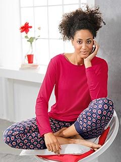 Printed Pajama Pants product image (C66490.NVPR.1.1_WithBackground)