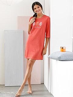 2 Pk Printed Sleepshirts product image (D74170.NVTC.1.6_WithBackground)